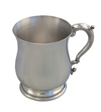 Georgian Pewter Tankard image